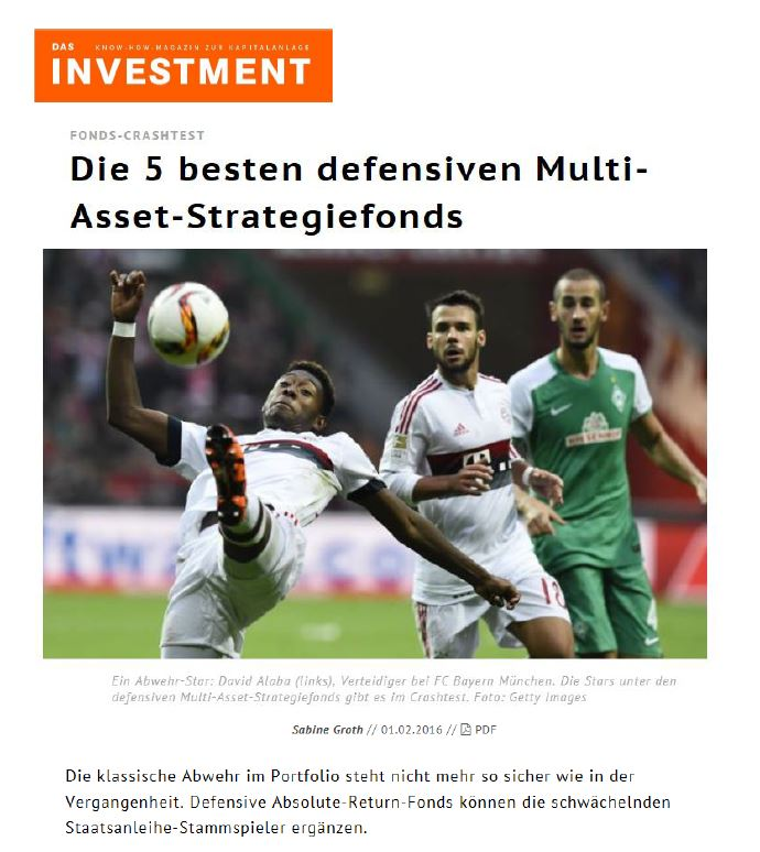 Fonds-Crashtest - Die 5 besten defensiven Multi-Asset-Strategiefonds