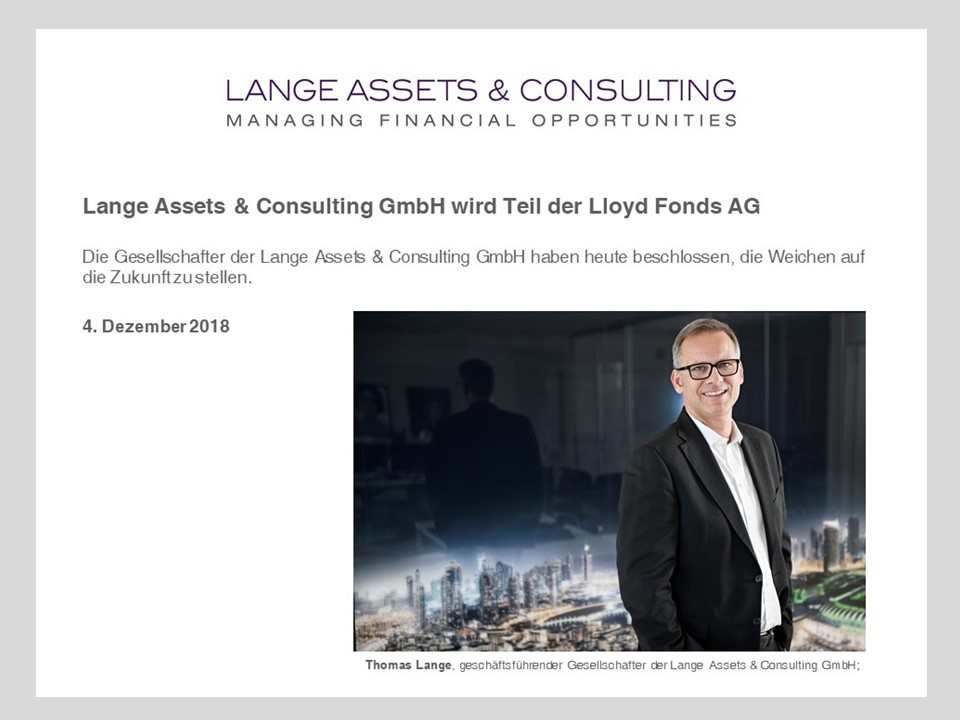 Lange Assets & Consulting GmbH